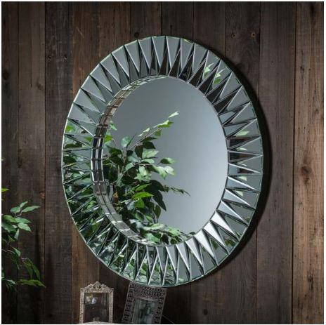 08 Vermont Round Deco Mirror A