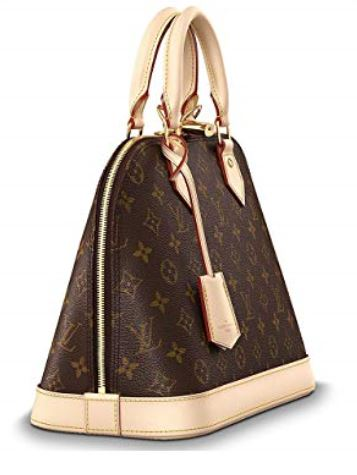 Authentic Louis Vuitton Monogram Canvas Alma PM Tote Handbag Article M53151 Made in France a