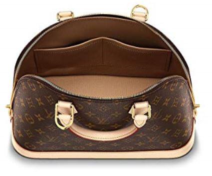 Authentic Louis Vuitton Monogram Canvas Alma PM Tote Handbag Article M53151 Made in France b
