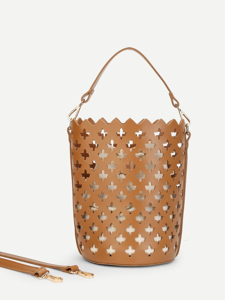 Laser Cut Bucket Bag Inner Pouch 1