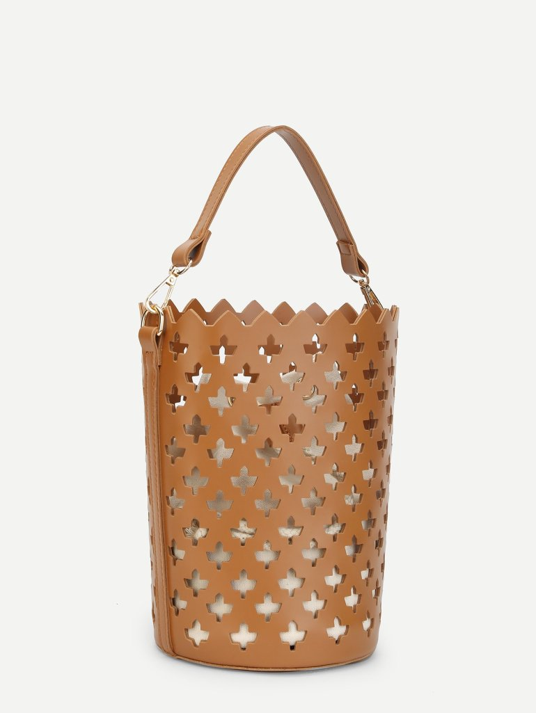 Laser Cut Bucket Bag Inner Pouch 2