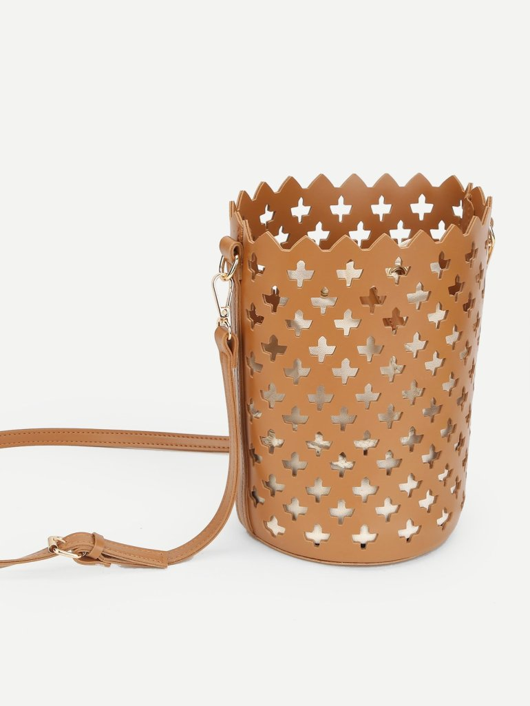 Laser Cut Bucket Bag Inner Pouch 4