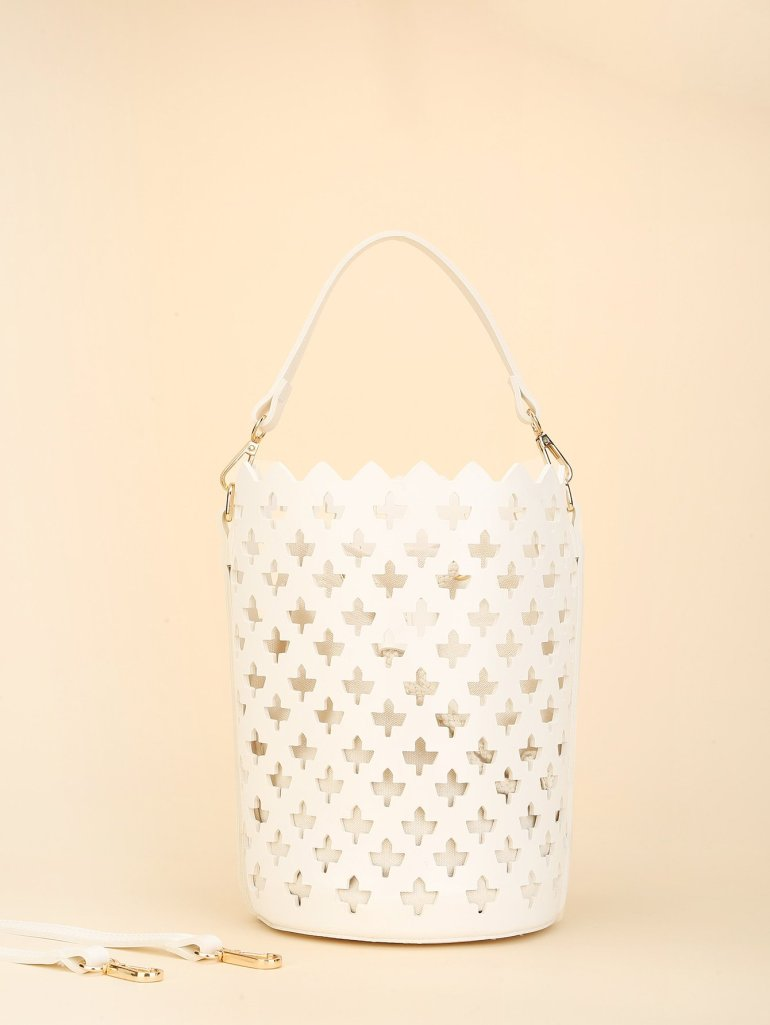 Laser Cut Bucket Bag Inner Pouch 6
