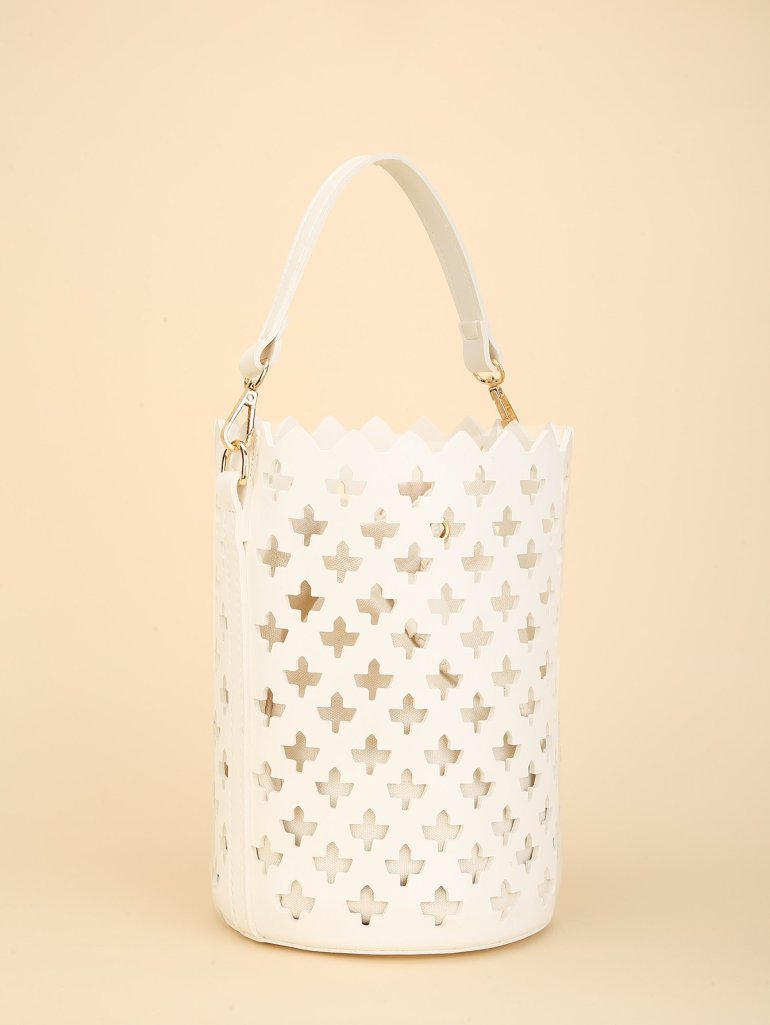 Laser Cut Bucket Bag Inner Pouch 7