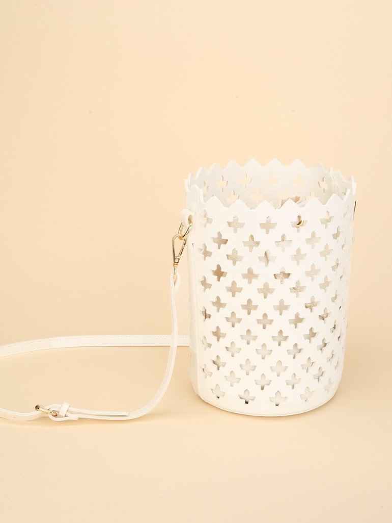 Laser Cut Bucket Bag Inner Pouch 9