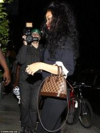 Louis Vuitton Alma Tote Hangbag Rihanna a