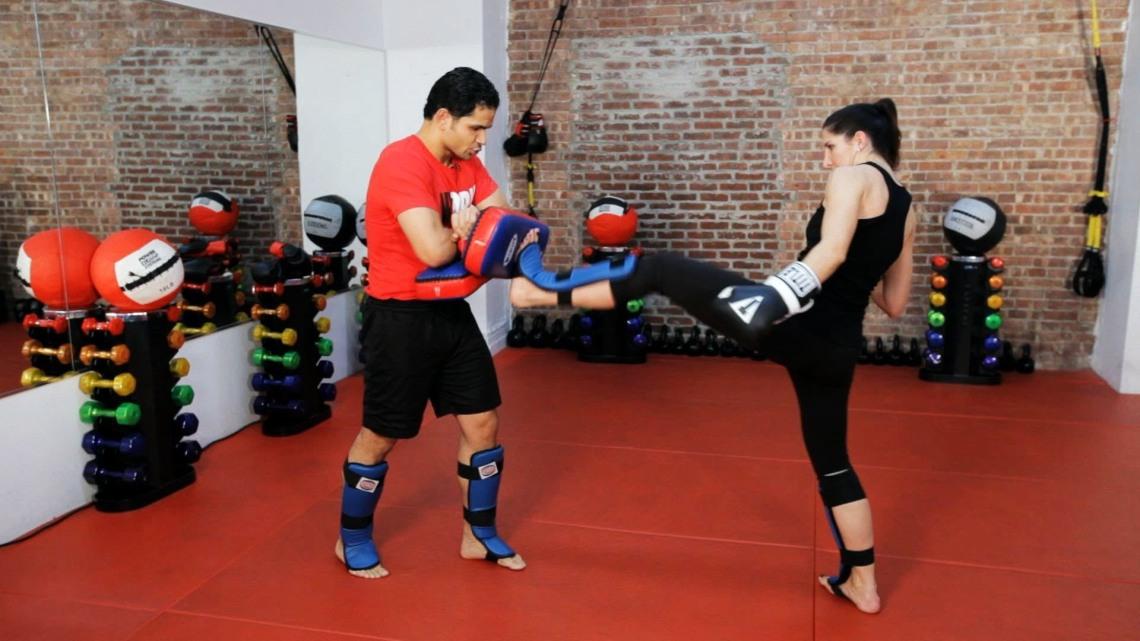 06 Taekwondo Kick Pads B