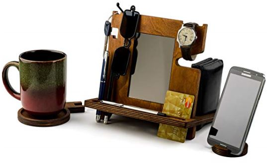 The Ultimate Wooden Docking Station 1