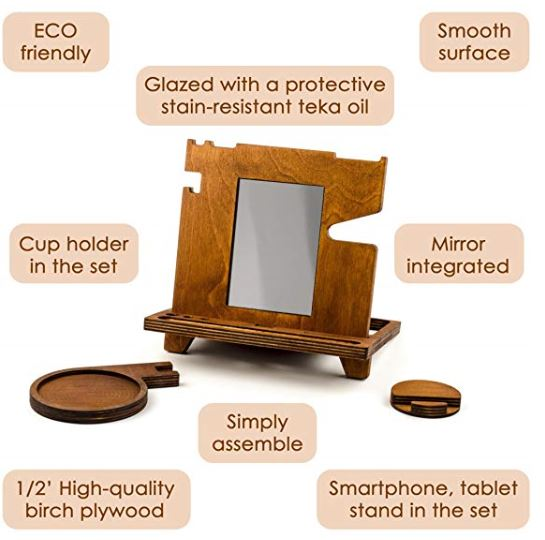 The Ultimate Wooden Docking Station 3