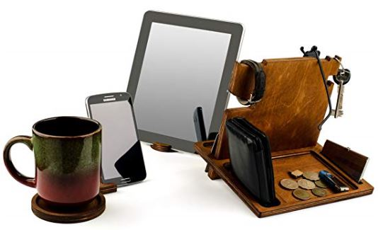 The Ultimate Wooden Docking Station 4